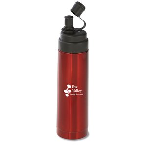 Vacuum Stainless Steel Bottle - 16 oz.