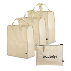 Polypropylene 4-pc Grocery Set - Closeout Main Image