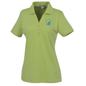 Silk Touch Interlock Polo - Ladies' Main Image