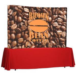 Splash Curved Tabletop Display - 7' - Wrap Graphics Main Image