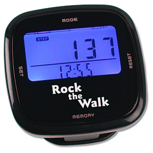 Touch Screen Pedometer Main Image