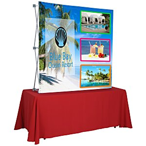 Splash Tabletop Display - 5' - Front Graphics Main Image