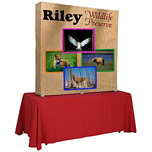 Splash Tabletop Display - 5' - Wrap Graphics Main Image