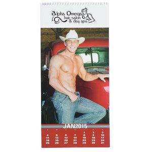 Male Physique Calendar Main Image