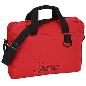Slim Organizer Brief Bag - Screen Main Image