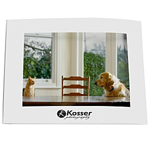 "Laminated Photo Frame - 7"" x 5"" - White Main Image"