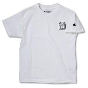 Champion Tagless T-Shirt - Youth - White