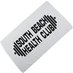Thirsty Game Towel with CleenFreek - White Main Image