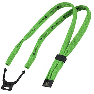 "Dual-Use Cotton Lanyard/Eyewear Retainer - 1/2"" Main Image"