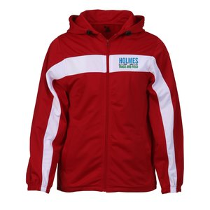 Badger Sport Brushed Tricot Hooded Jacket - Men's Main Image