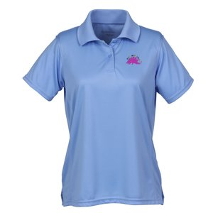 DISCONTINUED-Harriton Moisture Wicking Polo-Ladies' - 24 hr Main Image