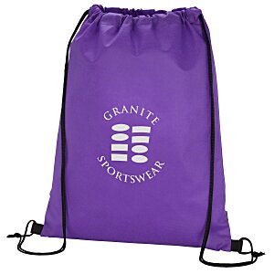 Promotional Drawstring Sportpack - 24 hr Main Image