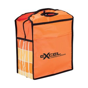 Graphic Backpack Cooler - Closeout Main Image