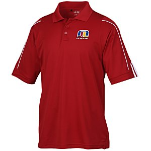 adidas Climalite 3-Stripes Cuff Polo - Men's Main Image