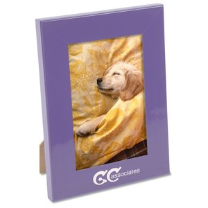 "Color Brite Plastic Picture Frame - 4"" x 6"" - Closeout Main Image"
