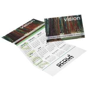Z-Fold Calendar - Motivational-Vision Main Image