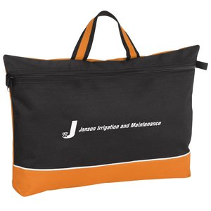 Color Pop Document Bag - Closeout Main Image