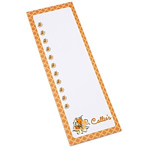 Bic Magnetic Manager Notepad - 25 Sheet