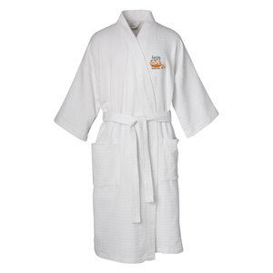 Waffle Weave Robe - Overstock Main Image
