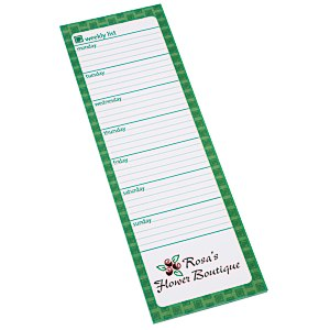Bic Magnetic Manager Notepad - Weekly - 25 Sheet Main Image