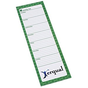 Bic Magnetic Manager Notepad - Weekly - 50 Sheet Main Image