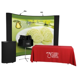 Deluxe Curved Quick Start Kit - 10' - Mural Center-100 Totes
