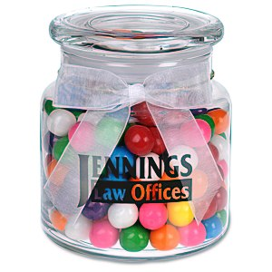 Sweeten Up Candy Jar - Rainbow Bubble Gum Main Image