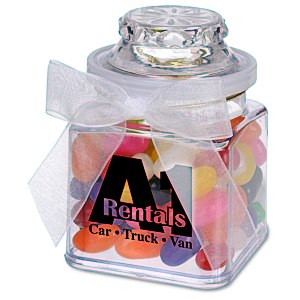 Plastic Goody Jar - Assorted Jelly Beans Main Image