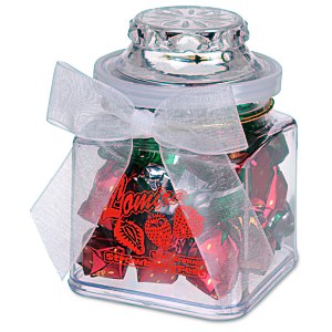 Plastic Goody Jar - Strawberry Delight Main Image
