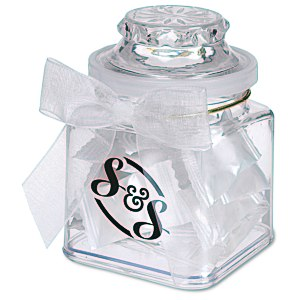 Plastic Goody Jar - Flavor Burst Candies Main Image