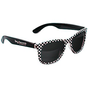 Checkered Hipster Shades Main Image