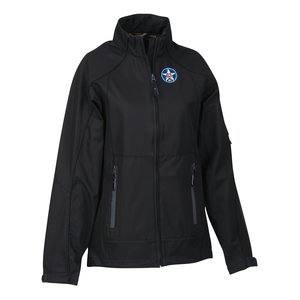 North End 3-Layer Mid-Length Soft Shell Jacket - Ladies'