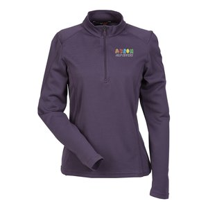 Performance Pinstripe Half Zip Pullover - Ladies' Main Image