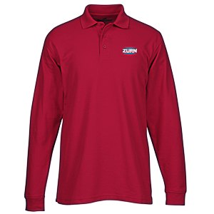 Soft Touch Pique LS Sport Shirt - Men's Main Image