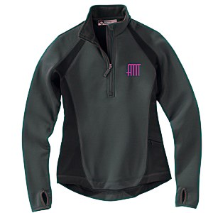 Storm Creek BodyFit Quarter Zip Fleece Pullover - Ladies' Main Image