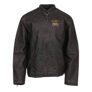 Burk's Bay Vintage Leather Jacket Main Image