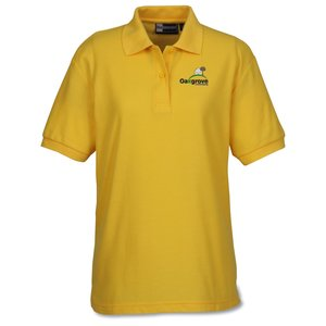 Lightweight Easy Care Pique Polo - Ladies' Main Image