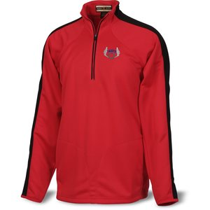 Half-Zip Athletic Double Knit Pullover - Men's Main Image