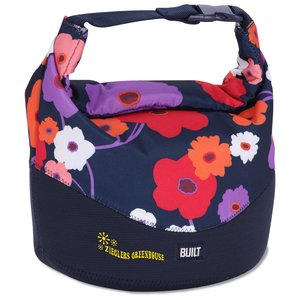 BUILT Rolltop Lunch Bag - Lush Flower Main Image