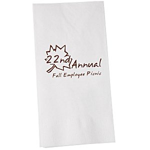 Dinner Napkin - 2-ply - 1/8 Fold - White Main Image