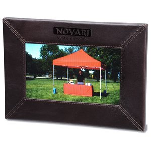 "Leather 7"" Digital Photo Frame"