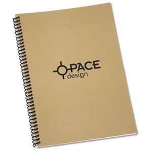 "Spiral Matte Laminated Notebook - 10"" x 7"" Main Image"