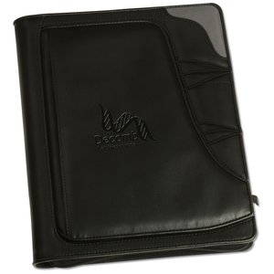 Summit Zippered Padfolio - Closeout Main Image
