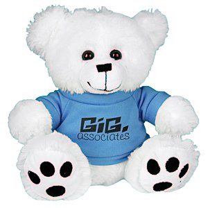 Big Paw Bear - White Main Image