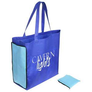 Shop N' Zip Foldable Tote Bag - 24 hr Main Image