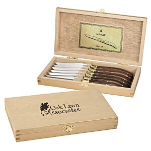 Laguiole 6-Piece Knife Set - 24 hr Main Image