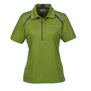 Quinn Colorblock Textured Polo - Ladies' Main Image