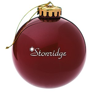 Round Shatterproof Ornament – Opaque Main Image