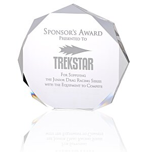 Enterprise Octagon Acrylic Award Main Image