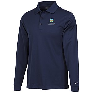 Nike Performance Long Sleeve Stretch Polo - Men's Main Image